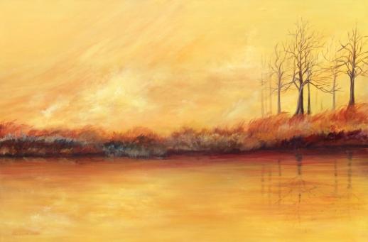 Colores del Otoño (Acrílico sobre tela - 120 x 80)
