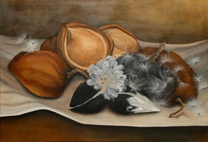 Enredadera Silvestre (Acrílico sobre tela - 110 x 60)