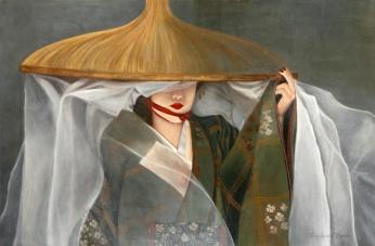 Geisha (Acrílico sobre tela - 140 x 80)