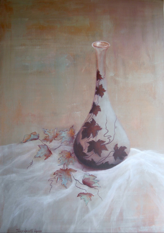 Hiedra y Cristal (Acrílico sobre tela - 60 x 100)