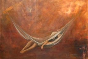 Siesta (Acrílico sobre tela - 120 x 80)