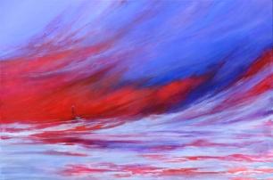 Vientos del Plata (Acrílico sobre tela - 120 x 80)