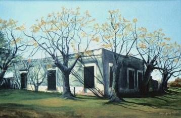 Viejo Almacén (Acrílico sobre tela - 120 x 80)