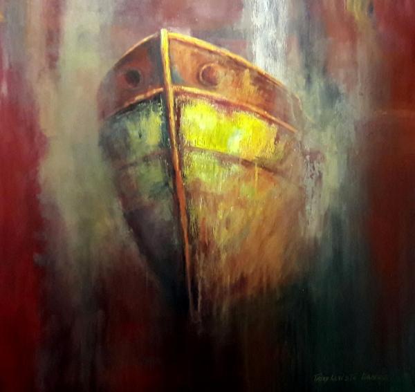 Neblina (Acrílico sobre tela - 100 x 90)